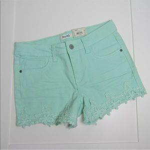 NWT Mudd Crochet Hem Shorts Size 16 GIRLS Kids
